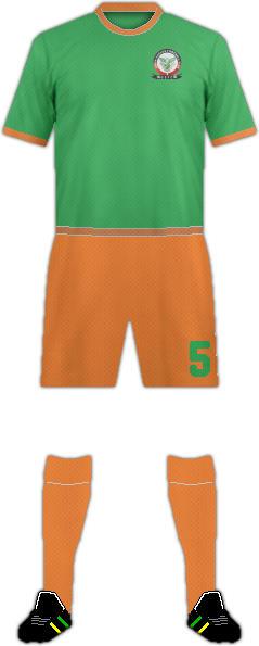 套件绿色伊格尔斯 F.C.