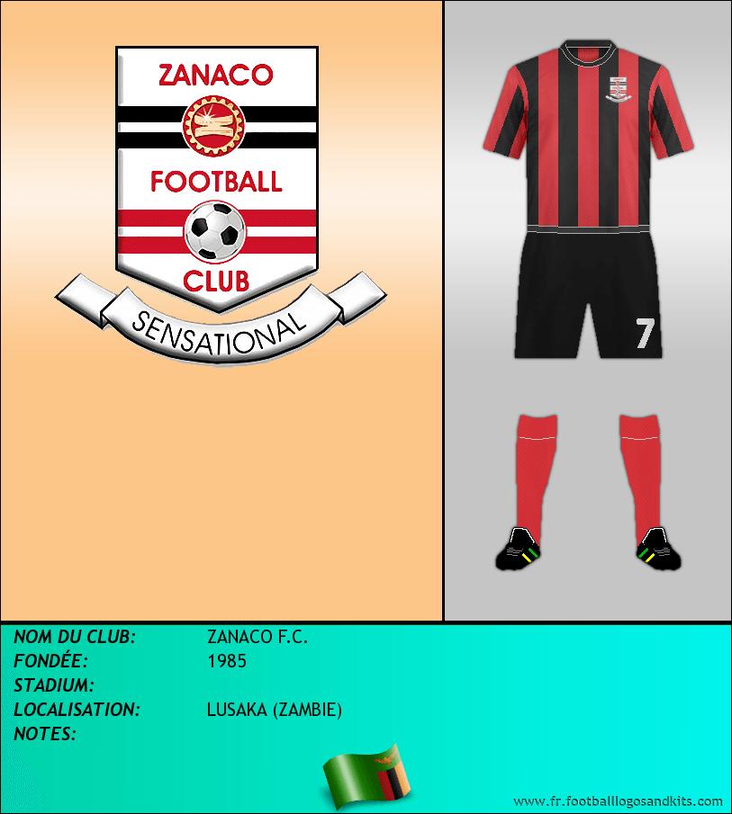 Logo de ZANACO F.C.