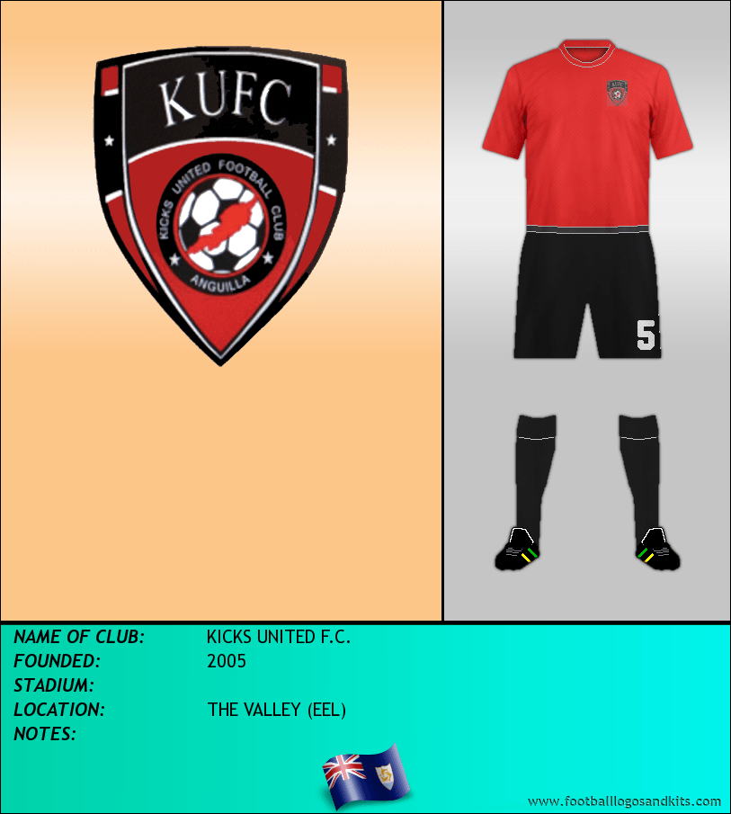 Logo of KICKS UNITED F.C.