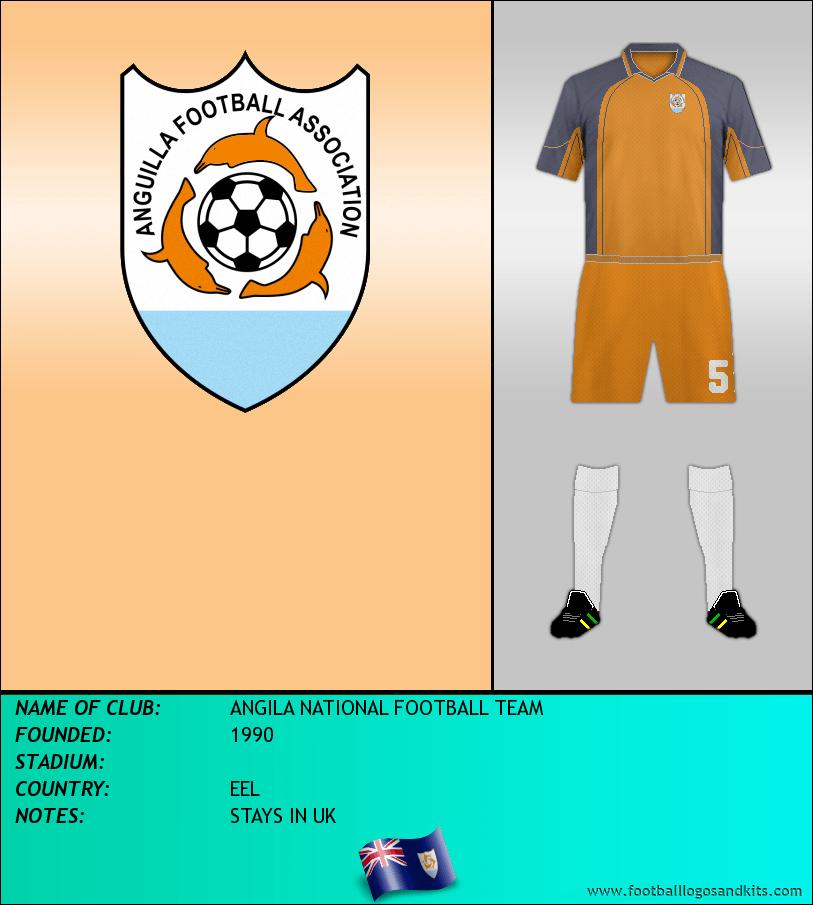 Logo of ANGILA NATIONAL FOOTBALL TEAM
