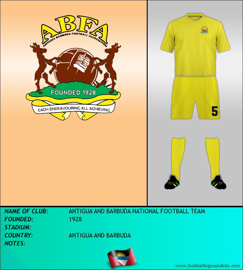 Logo of ANTIGUA AND BARBUDA NATIONAL FOOTBALL TEAM