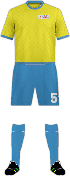 Kit ARUBA NATIONAL FOOTBALL TEAM