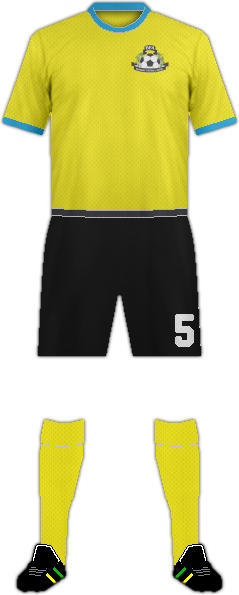 Kit BAHAMAS NATIONAL FOOTBALL TEAM