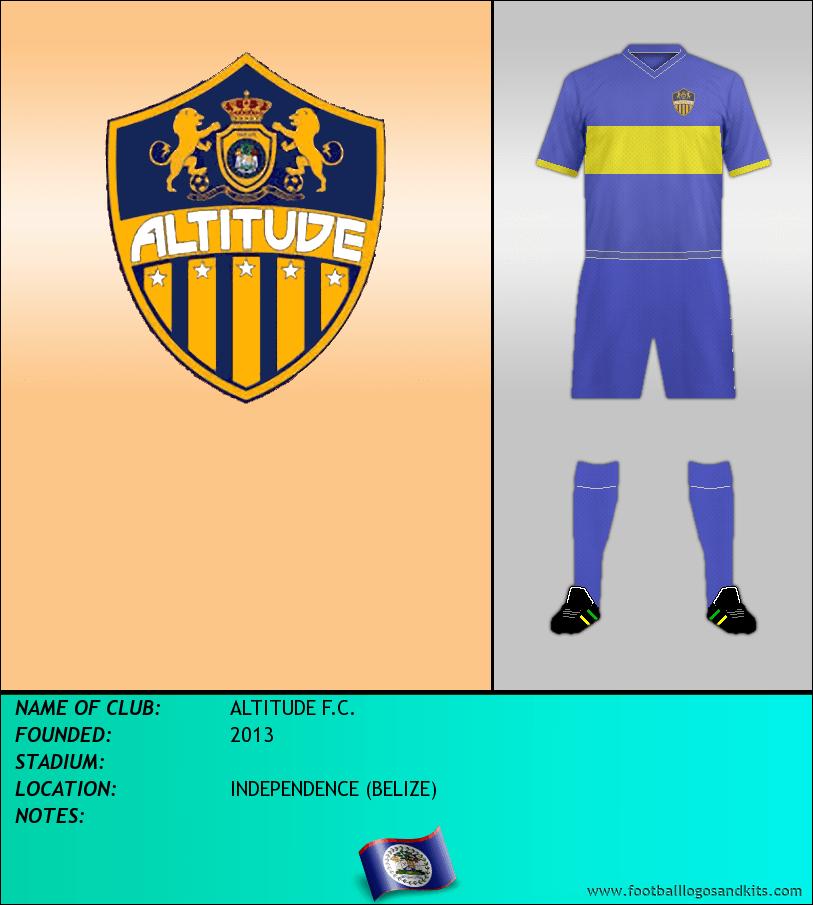 Logo of ALTITUDE F.C.