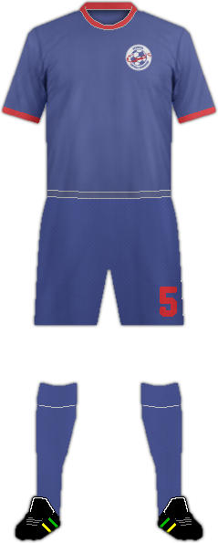 Kit BERMUDA NATIONAL FOOTBALL TEAM