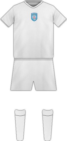 Kit SERBIAN WHITE EAGLES FC