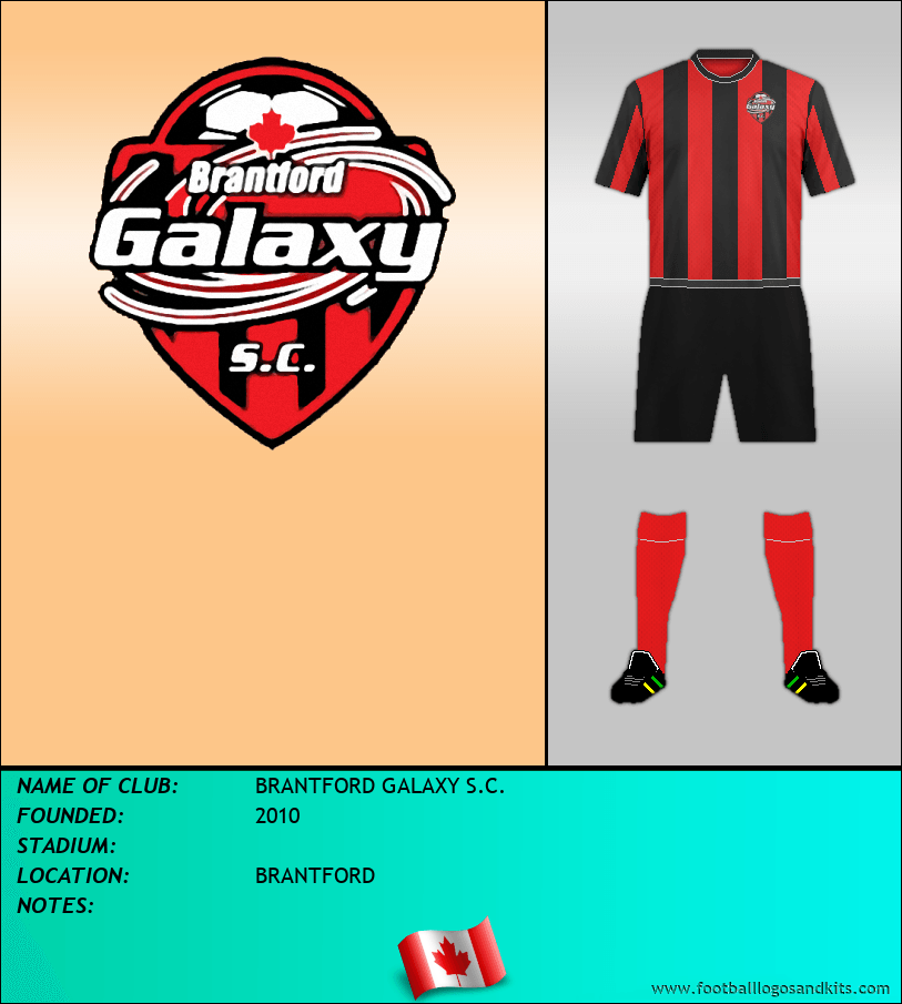 Logo of BRANTFORD GALAXY S.C.