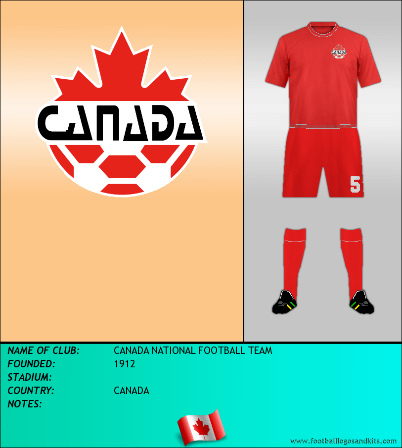 Logo of CANADA NATIONAL FOOTBALL TEAM