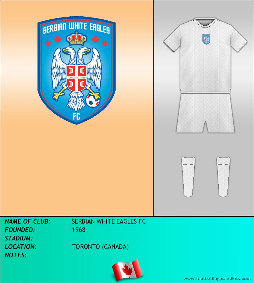 Logo of SERBIAN WHITE EAGLES FC