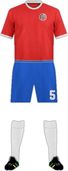 キット哥斯达黎加サッカー代表