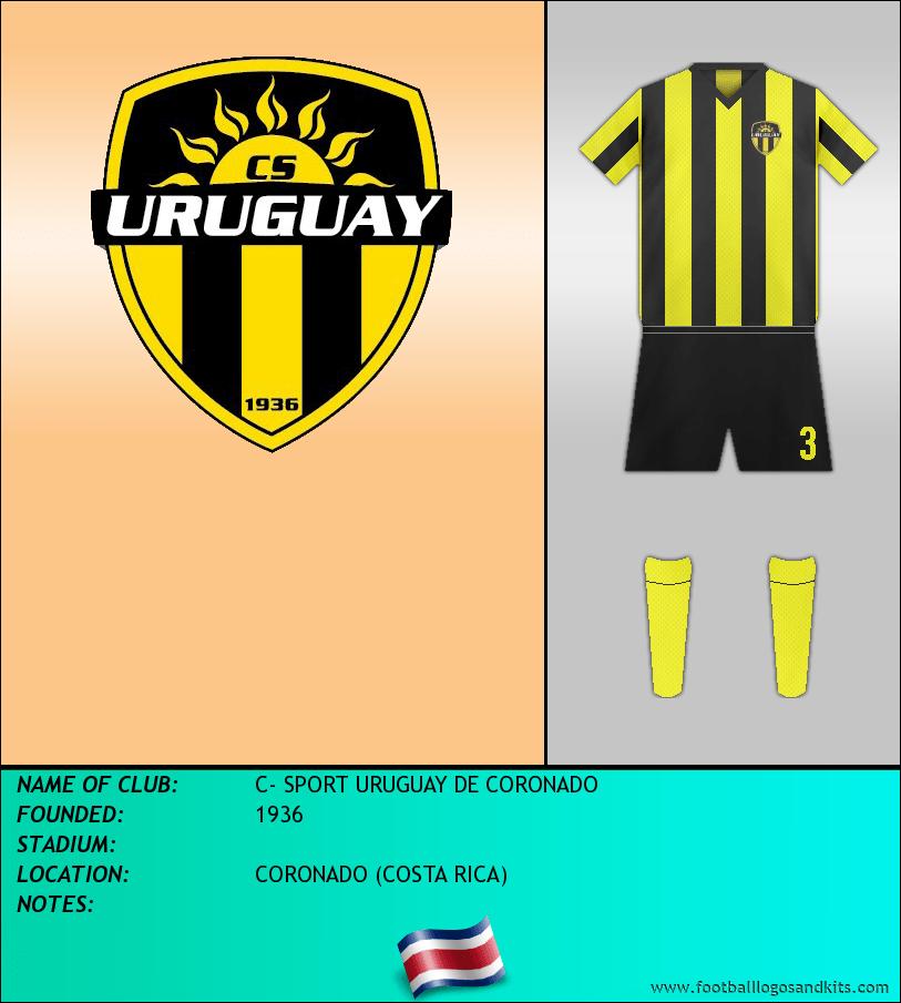 Logo of C- SPORT URUGUAY DE CORONADO