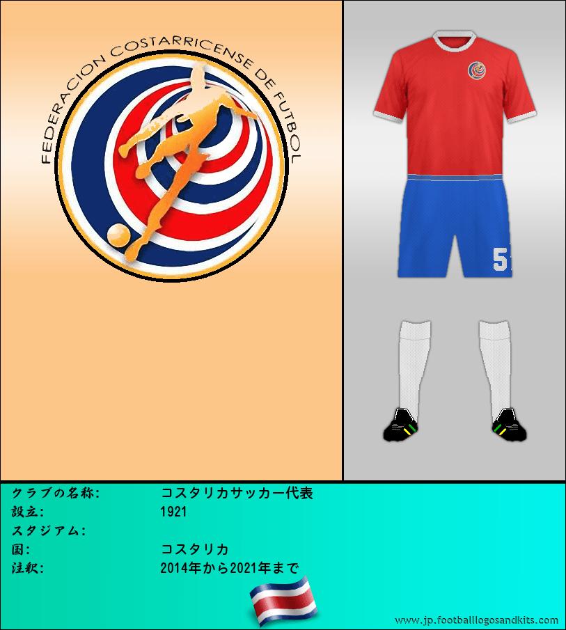 のロゴ哥斯达黎加サッカー代表