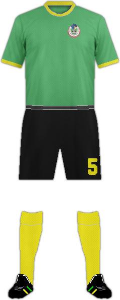 Kit DOMINICA NATIONAL FOOTBALL TEAM
