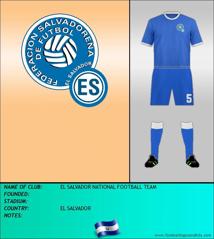 Logo of EL SALVADOR NATIONAL FOOTBALL TEAM