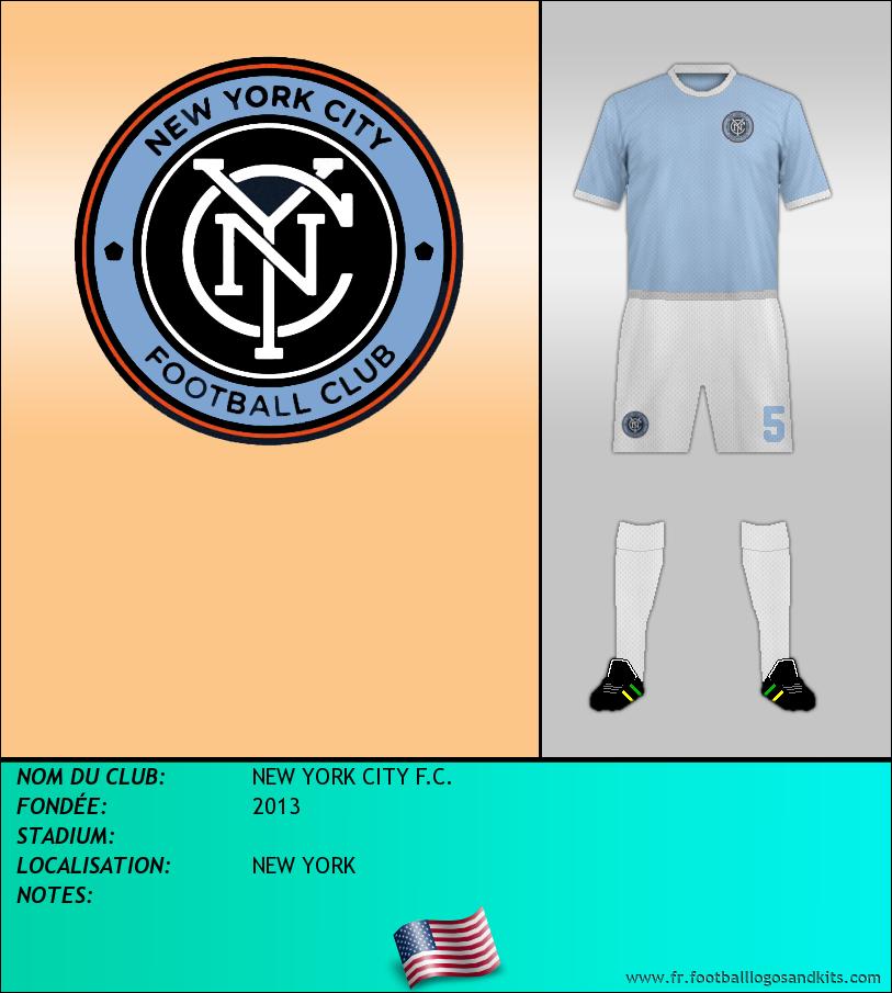 Logo de NEW YORK CITY F.C.