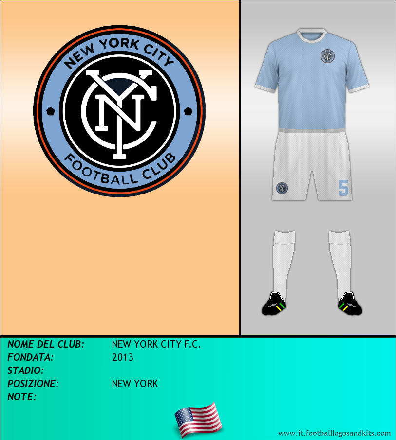 Logo di NEW YORK CITY F.C.