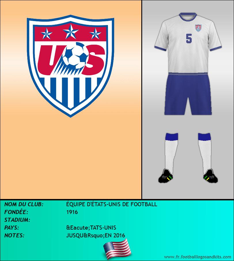 Logo de ÉQUIPE D'ÉTATS-UNIS DE FOOTBALL