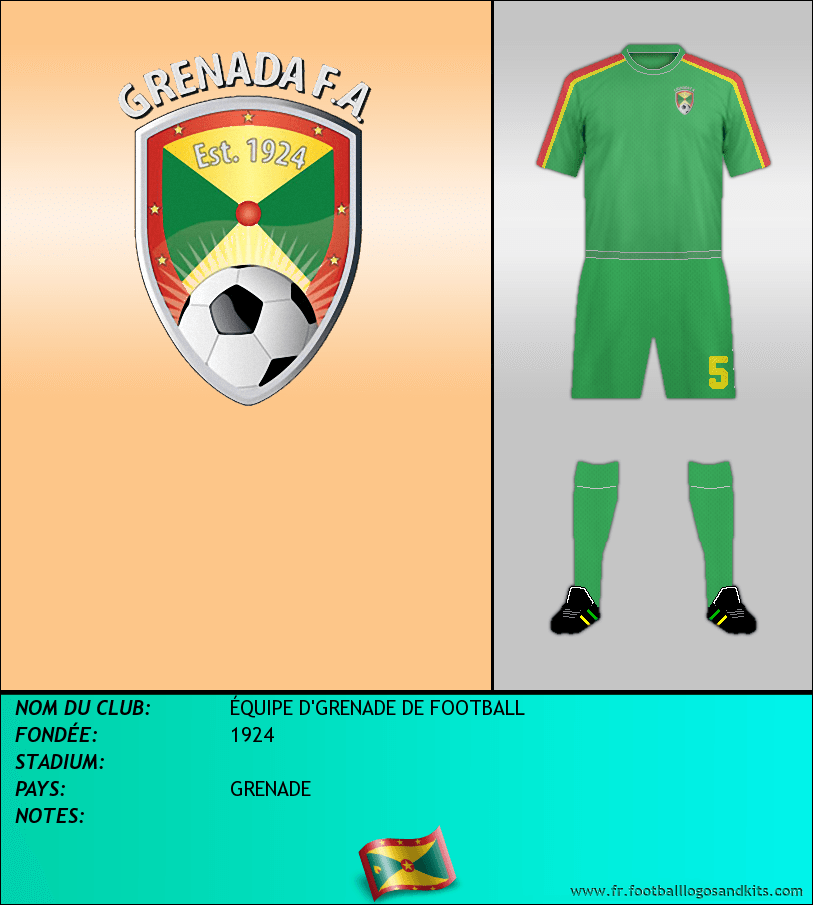 Logo de ÉQUIPE D'GRENADE DE FOOTBALL