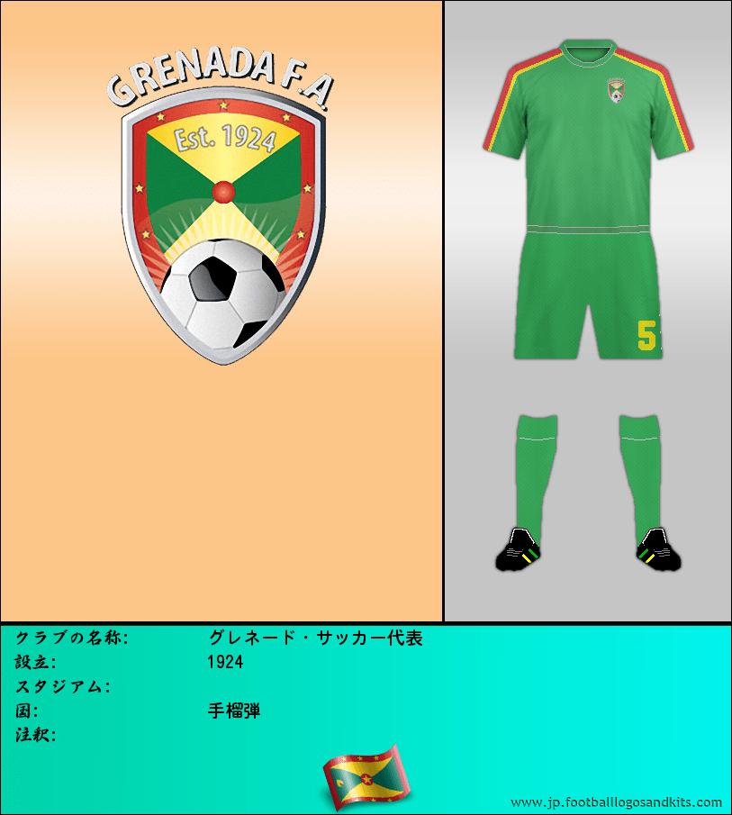 のロゴグレネード・サッカー代表
