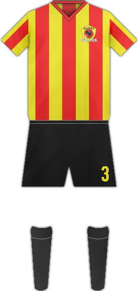 Kit FC DEPORTIVO ZACAPA