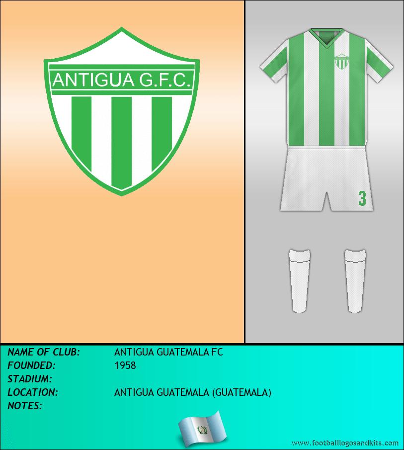 Logo of ANTIGUA GUATEMALA FC