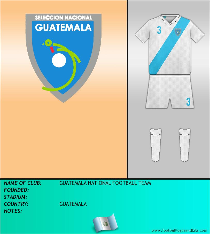 Logo of SELECCIÓN GUATEMALTECA DE FÚTBOL