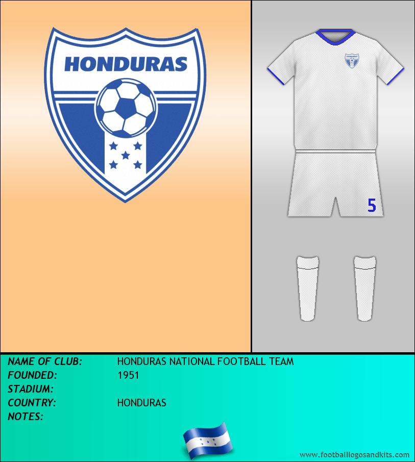 Logo of SELECCIÓN HODUREÑA DE FÚTBOL
