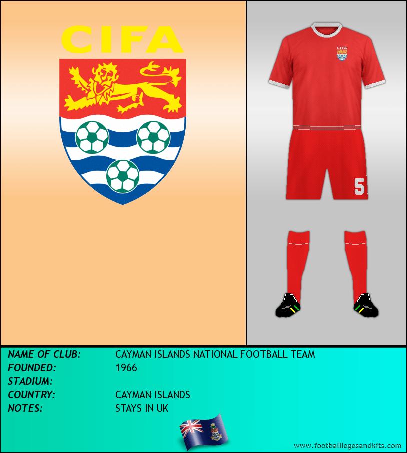 Logo of CAYMAN ISLANDS NATIONAL FOOTBALL TEAM