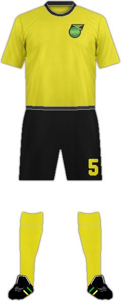Kit JAMAICA NATIONAL FOOTBALL TEAM