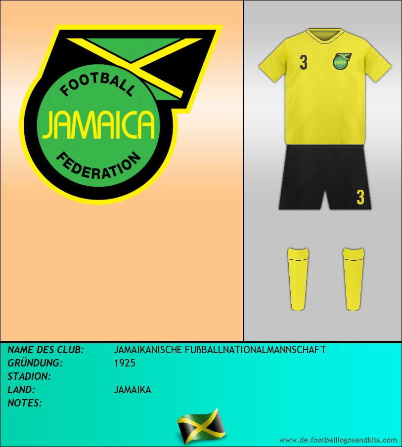 Logo SELECCIÓN JAMAICANA FÚTBOL