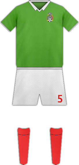 Kit MEXICO NATIONAL FOOTBALL TEAM