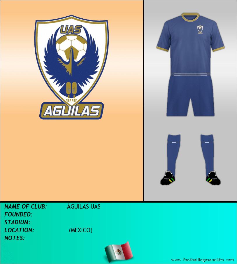 Logo of ÁGUILAS UAS