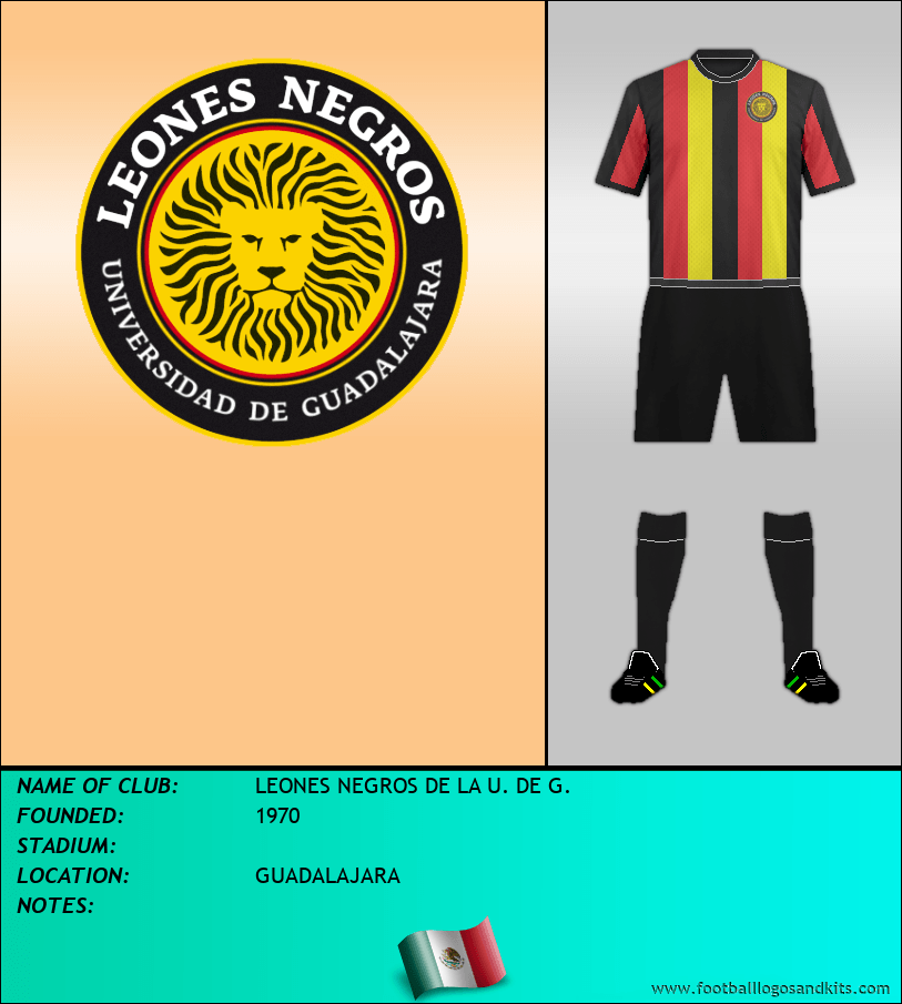 Logo of LEONES NEGROS DE LA U. DE G.