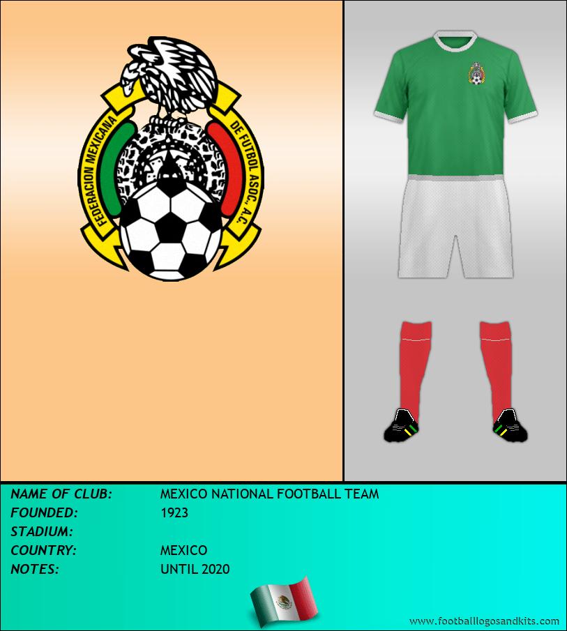 Logo of SELECCIÓN DE MÉXICO
