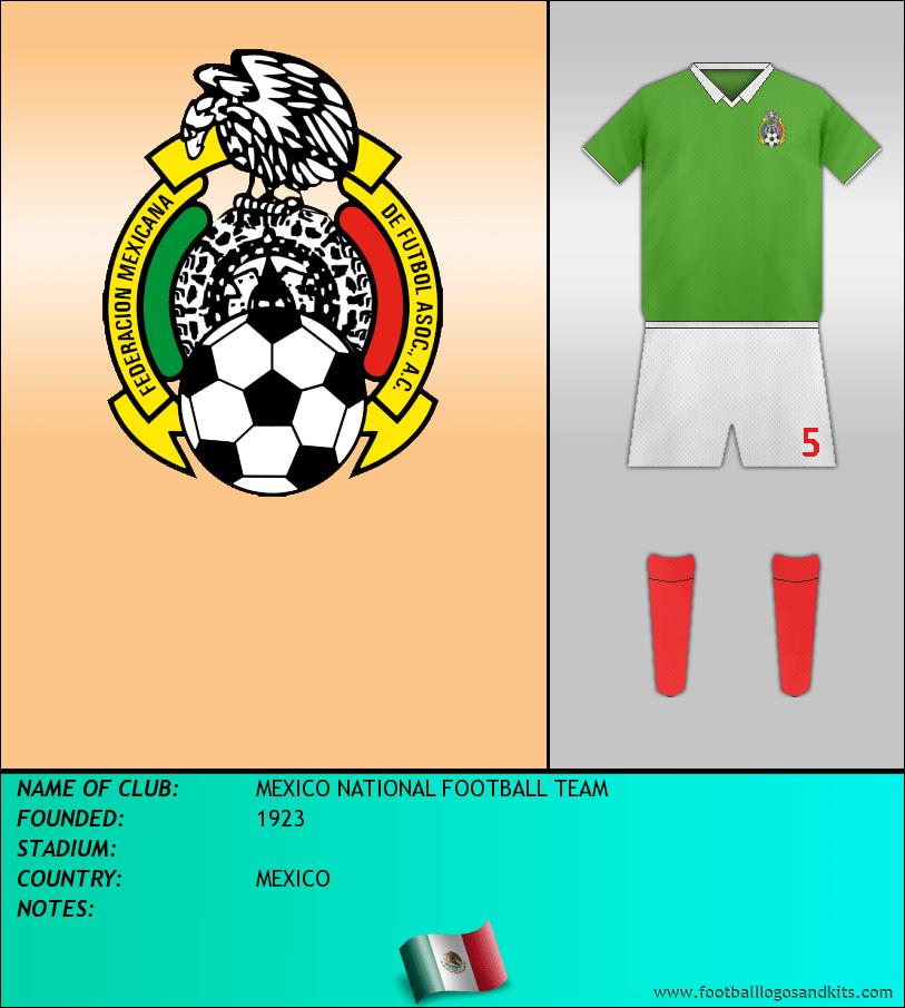 Logo of SELECCIÓN MEXICANA