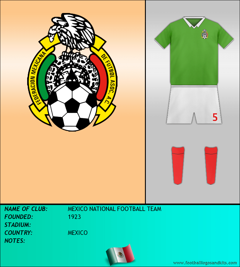 Logo of MEXICO NATIONAL FOOTBALL TEAM