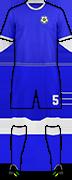 Kit ÉQUIPE D'NICARAGUA DE FOOTBALL