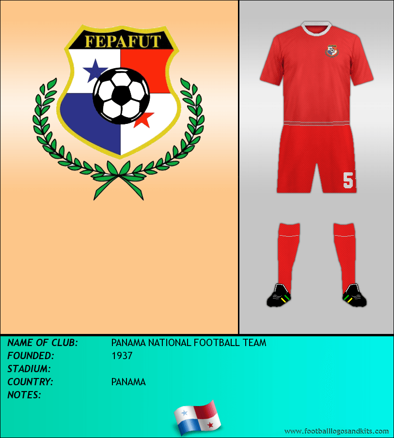 outlet store 6d82c 6287d Logo of PANAMA NATIONAL FOOTBALL TEAM
