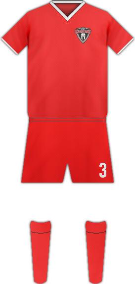 Kit PUERTO RICO SPARTANS FC