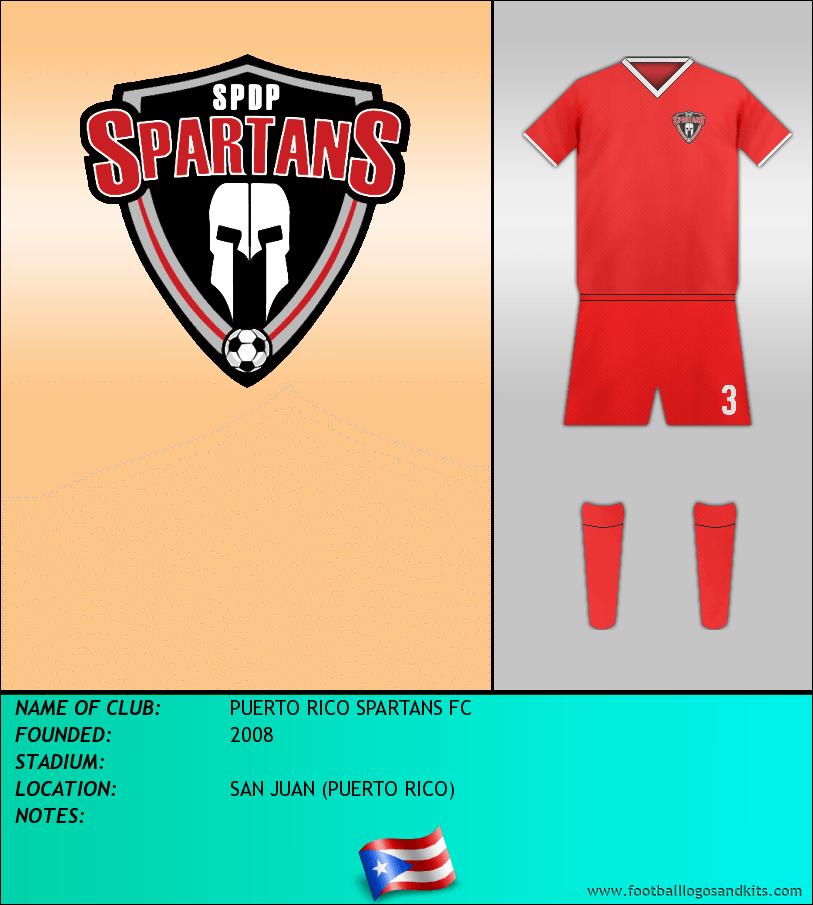 Logo of PUERTO RICO SPARTANS FC