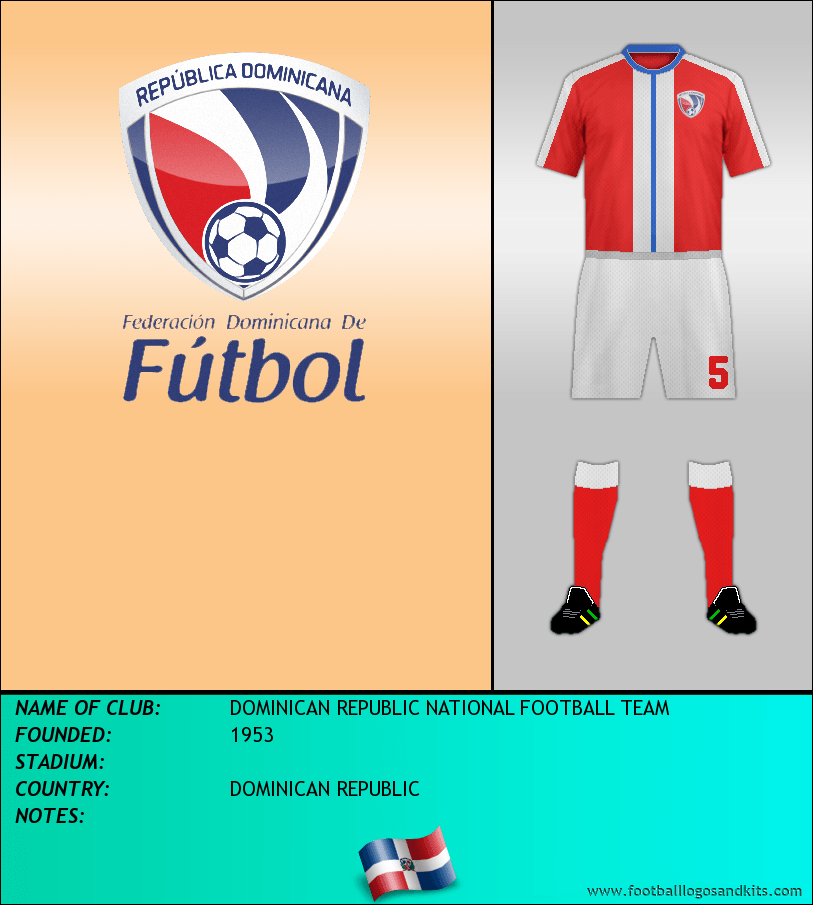 new arrival d8f3a 0a388 Logo of DOMINICAN REPUBLIC NATIONAL FOOTBALL TEAM