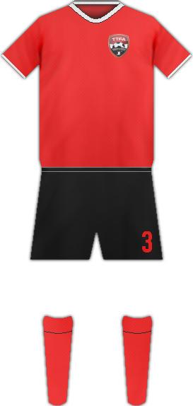 Kit TRINIDAD AND TOBAGO NATIONAL FOOTBALL TEAM