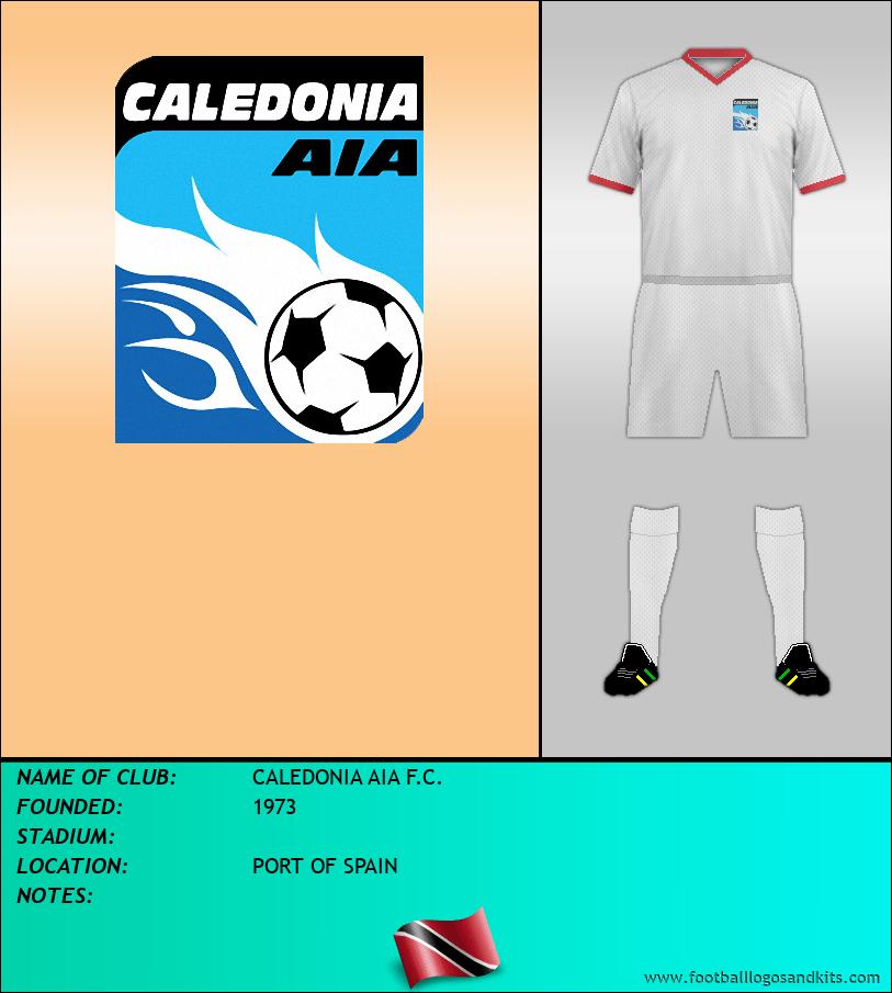 Logo of CALEDONIA AIA F.C.