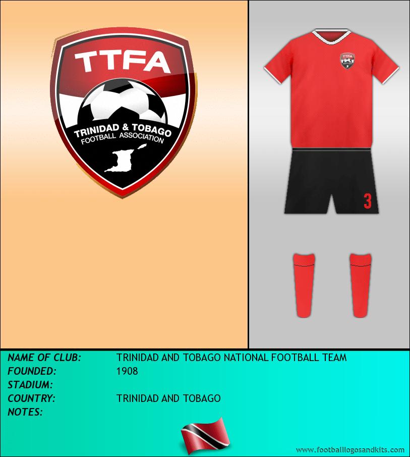 Logo of TRINIDAD AND TOBAGO NATIONAL FOOTBALL TEAM