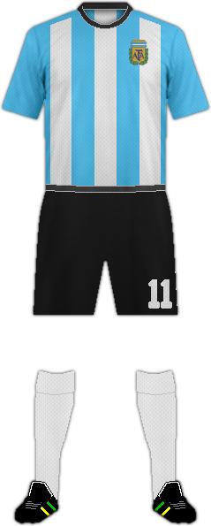 Kit ARGENTINA NATIONAL FOOTBALL TEAM