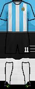 套件阿根廷国家足球队