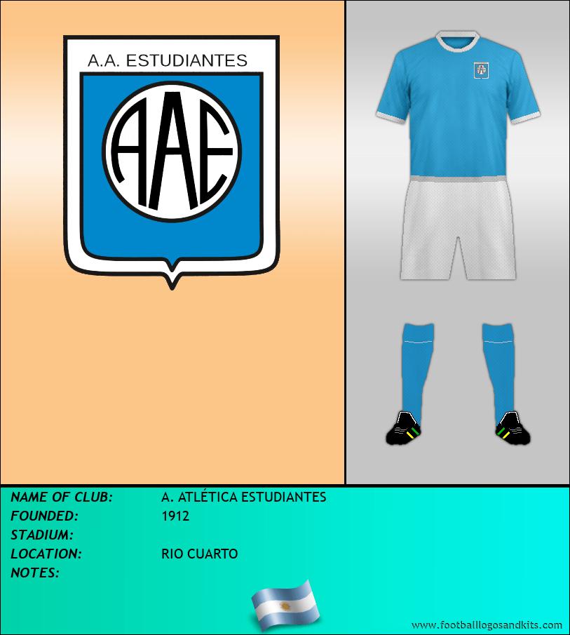 Logo of A. ATLÉTICA ESTUDIANTES