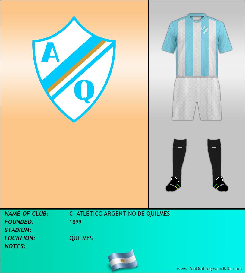 Logo of C. ATLÉTICO ARGENTINO DE QUILMES