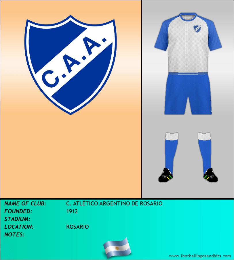 Logo of C. ATLÉTICO ARGENTINO DE ROSARIO