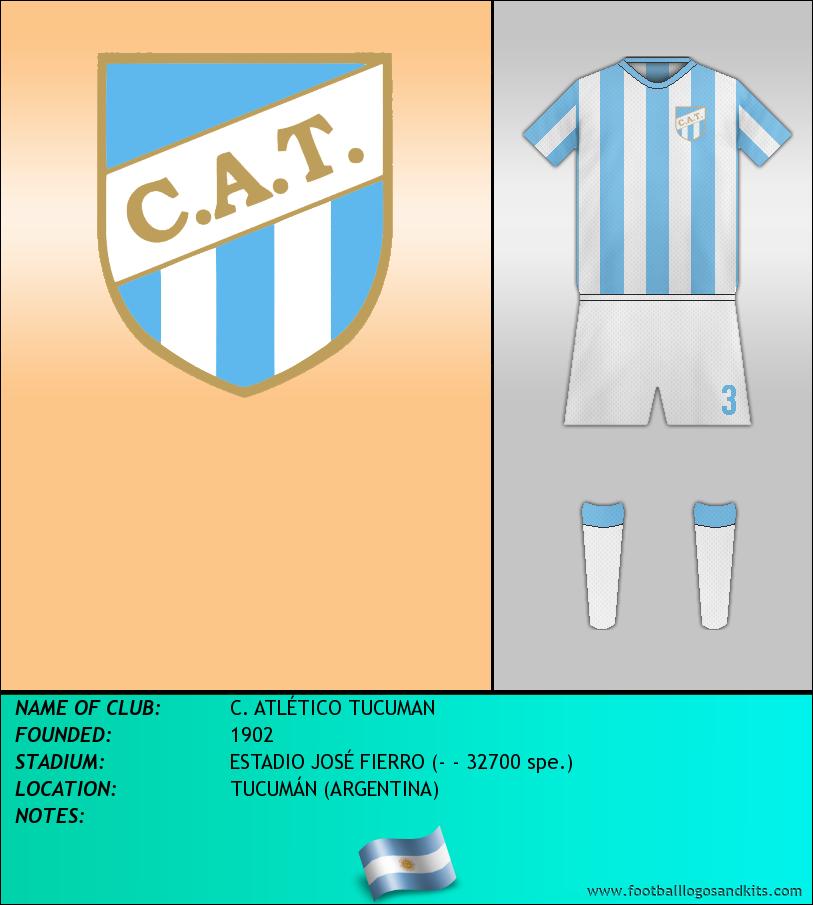 Logo of C. ATLÉTICO TUCUMAN